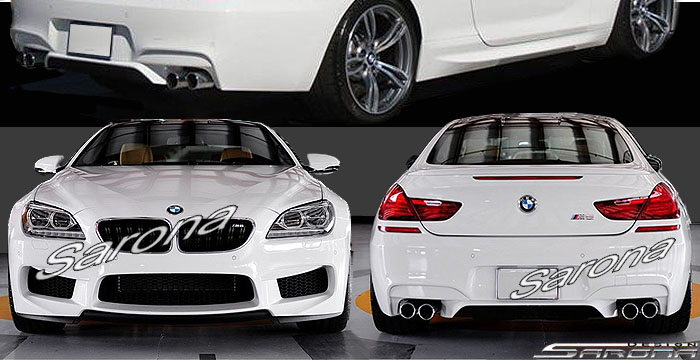 Custom BMW 6 Series  Coupe Body Kit (2011 - 2016) - $1980.00 (Part #BM-072-KT)